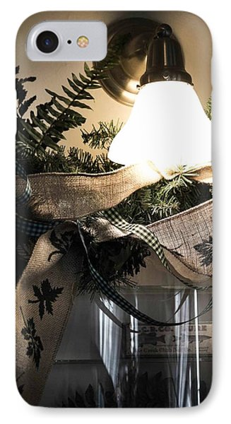 IPhone Case featuring the photograph Rustic Holiday by Patricia Babbitt