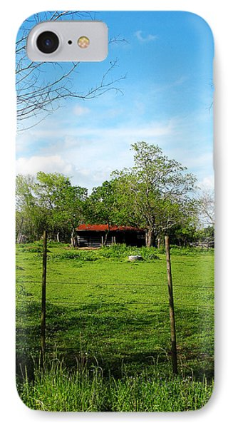 Rustic Land Of Beauty - Rural Texas IPhone Case