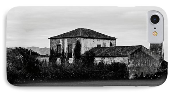 Rustic Outbuildings In A Field  IPhone Case