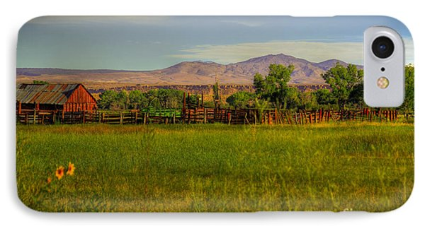 Rustic Ranch IPhone Case by Kelly Wade