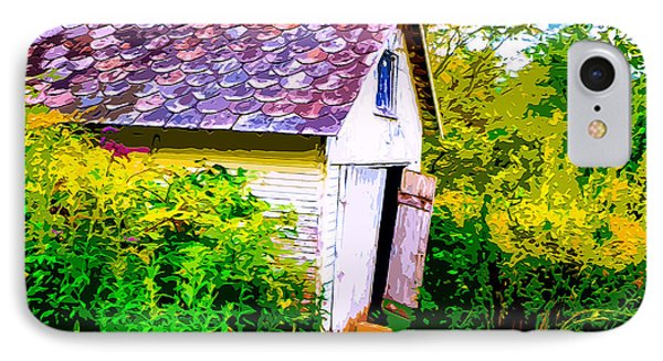 Rustic Shed 2 IPhone Case by Brian Stevens