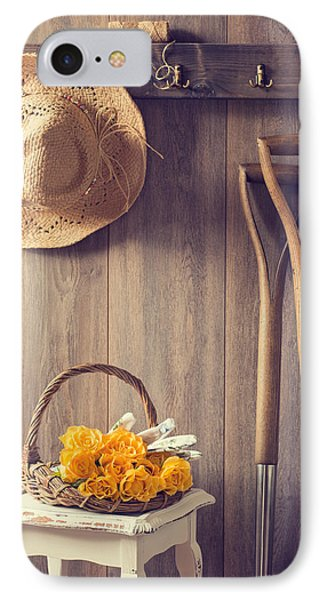 Rustic Shed IPhone Case