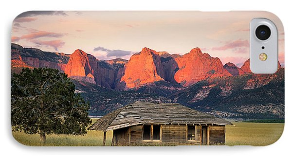 Rustic Southwest IPhone Case by Leland D Howard