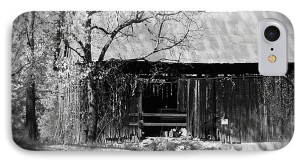 Rustic Tennessee Barn Phone Case by Phil Perkins