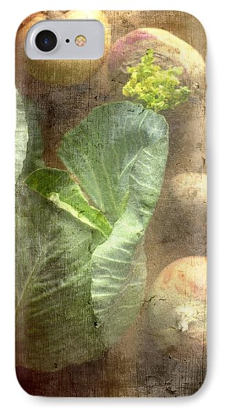 Rustic Vegetable Fruit Medley IIi IPhone Case by Suzanne Powers