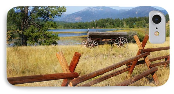 Rustic Wagon Phone Case by Marty Koch