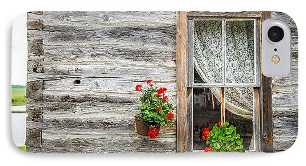 Rustic Window IPhone Case by Paul Freidlund