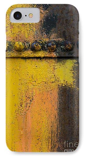 Rusting Machinery Phone Case by John Shaw