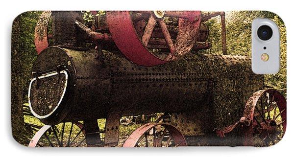 Rusty Antique Steam Engine IPhone Case