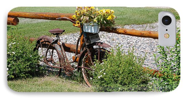 IPhone Case featuring the photograph Rusty Bike by Mark McReynolds