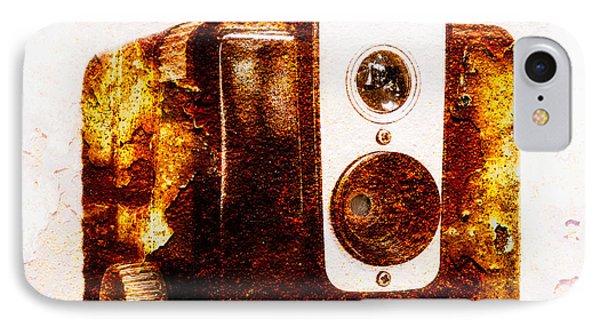 Rusty Brownie - Square IPhone Case by Jon Woodhams