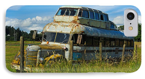 Rusty Bus IPhone Case by Crystal Hoeveler