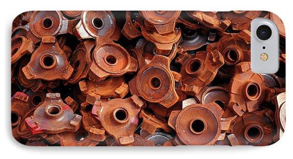 Rusty Cogwheels IPhone Case by Dirk Wiersma