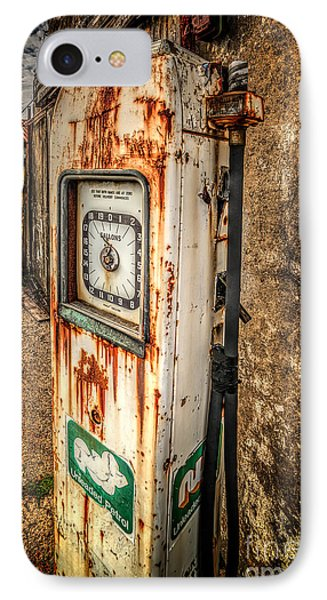 Rusty Gas Pump Phone Case by Adrian Evans