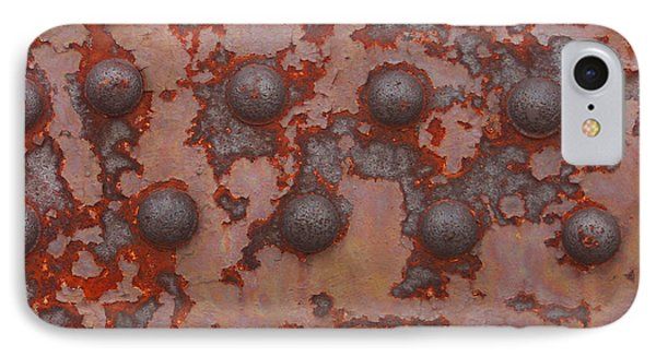 Rusty Girder Truss Phone Case by Art Block Collections