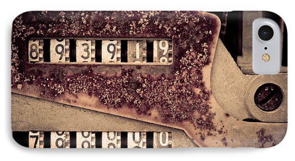 Rusty Meters IPhone Case