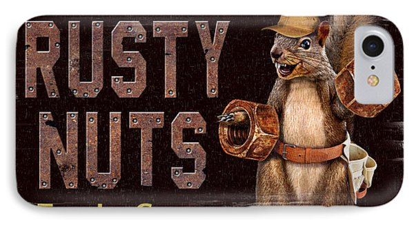 Rusty Nuts Phone Case by JQ Licensing