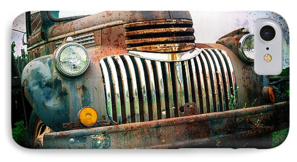 Rusty Old Chevy Pickup Phone Case by Edward Fielding