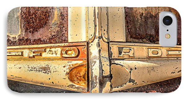 Rusty Old Ford IPhone Case by Edward Fielding