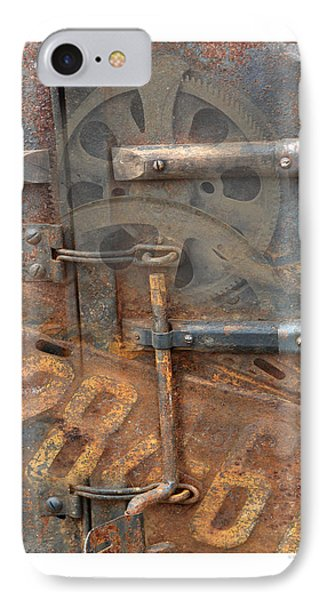 IPhone Case featuring the photograph Rusty Stuff Montage by Bob Salo