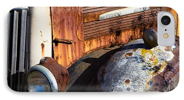 Rusty Truck Detail IPhone Case by Garry Gay