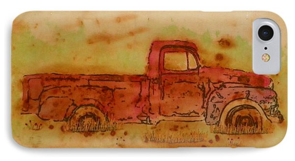 Rusty Truck IPhone Case