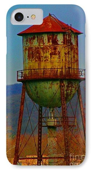 Rusty Water Tower Phone Case by Beth Ferris Sale