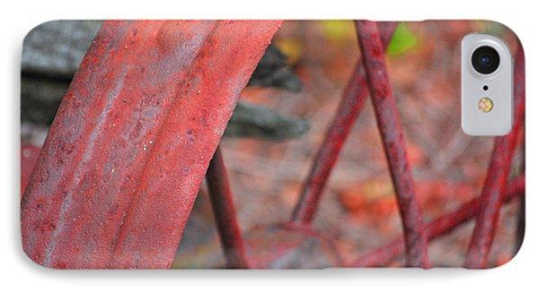 Rusty Wheel IPhone Case