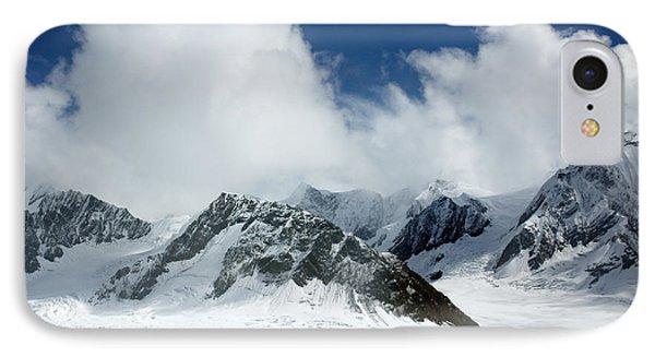 Ruth Gorge In Alaska's Denali National Park IPhone Case by Carol M Highsmith