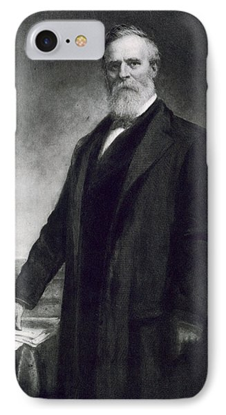 Rutherford B Hayes IPhone Case by Daniel Huntington