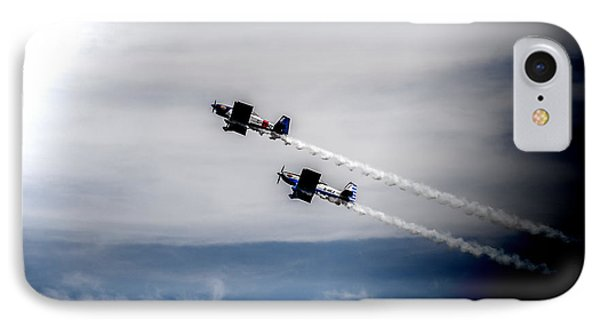 IPhone Case featuring the photograph Rv8tors Flying High Sunderland Air Show 2014 by Scott Lyons