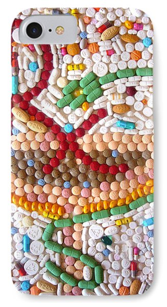 Rx Art Prescription By Faraz Khan IPhone Case