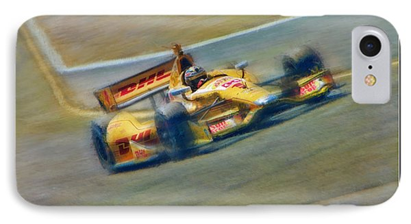 Ryan Hunter-reay IPhone Case by Blake Richards