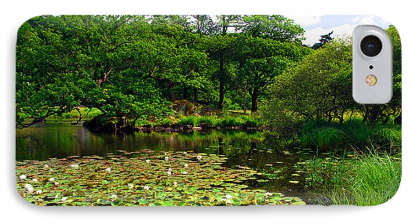 Rydal Water Lilies IPhone Case by Graham Hawcroft pixsellpix