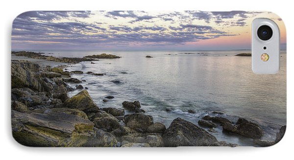 Rye Cliffs Phone Case by Eric Gendron