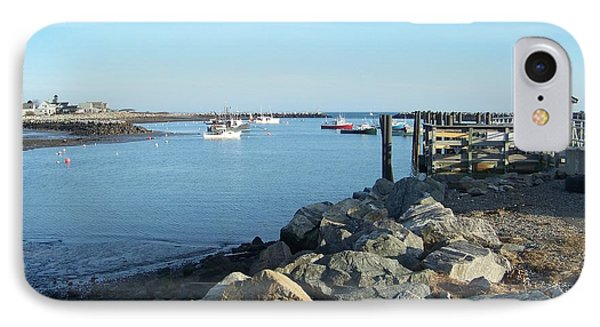 IPhone Case featuring the photograph Rye Harbor  by Eunice Miller