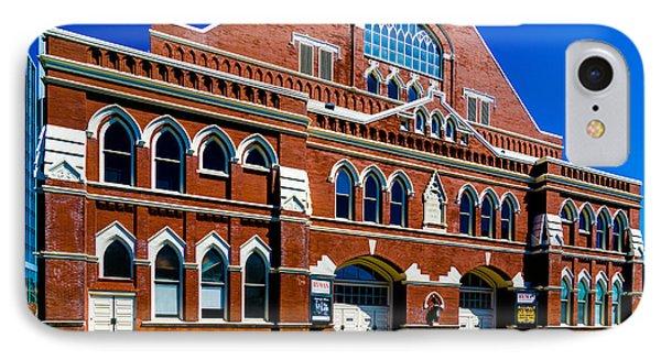 Ryman Auditorium  IPhone Case by Danny Hooks