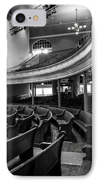 Ryman Auditorium Pews IPhone Case by Glenn DiPaola