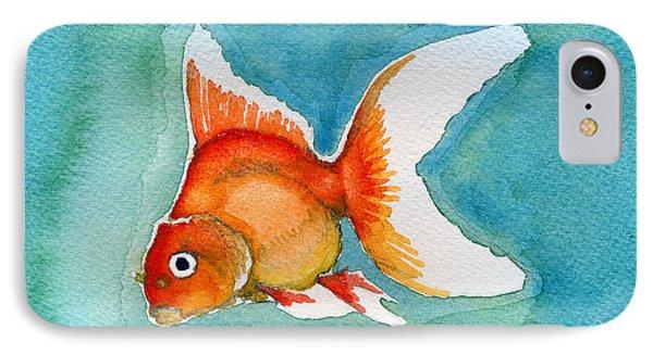 Ryukin Goldfish IPhone Case by Katherine Miller