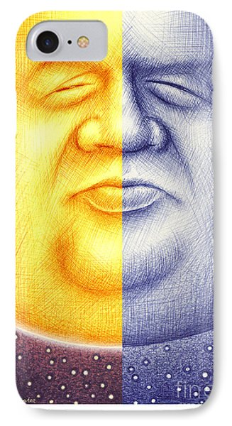 IPhone Case featuring the digital art S O L U N A  by Cristophers Dream Artistry