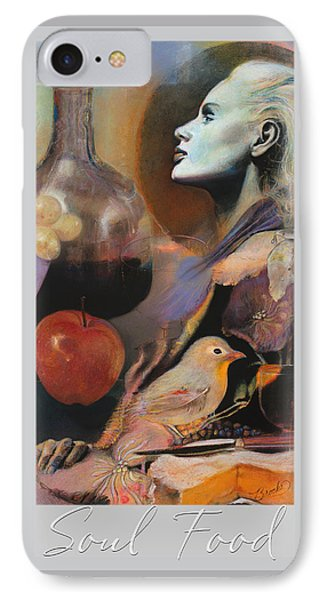Soul Food - With Title And Light Border IPhone Case by Brooks Garten Hauschild