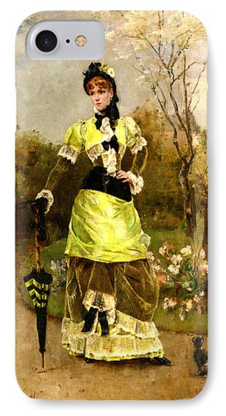 Sa Majeste La Parisienne IPhone Case by Alfred Stevens