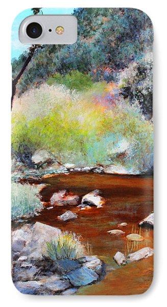 Sabino Canyon Scenes 2 IPhone Case by M Diane Bonaparte