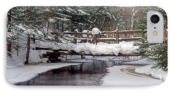 Sable Creek Footbridge  IPhone Case