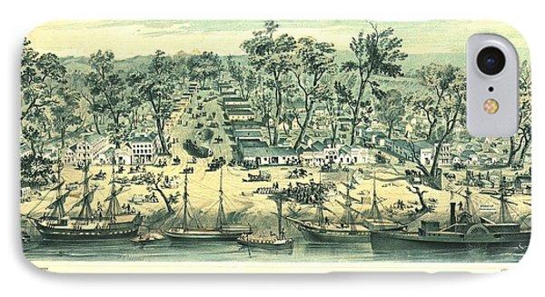 Sacramento California 1849 IPhone Case
