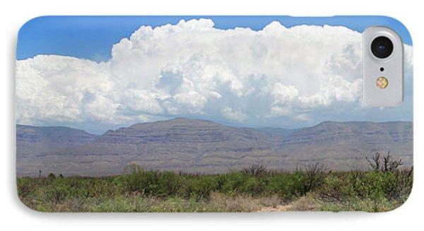 Sacramento Mountains Storm Clouds Phone Case by Jack Pumphrey