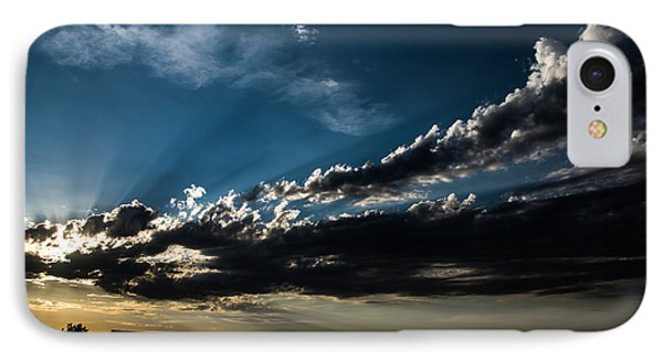 Sacramento Valley Sunset IPhone Case by Mick Anderson