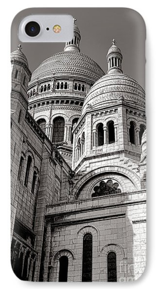 Sacre Coeur Architecture  IPhone Case by Olivier Le Queinec