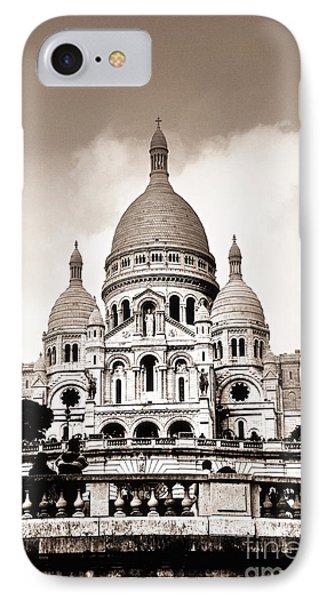 Sacre Coeur Basilica In Paris Phone Case by Elena Elisseeva