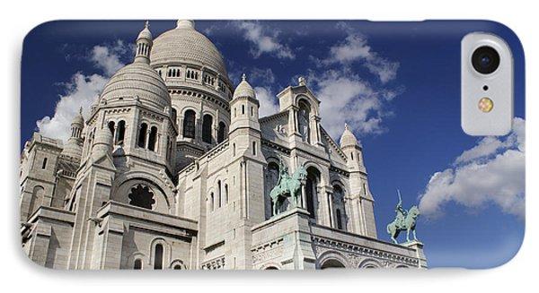Sacre Coeur Paris Phone Case by Gary Eason